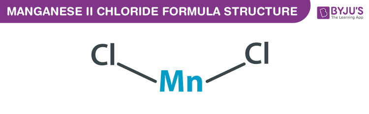 Manganese (II) chloride Formula