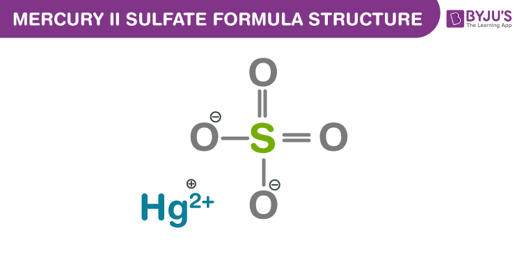 Mercury (II) sulfate Formula