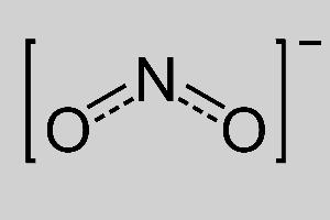 Nitrite Structural Formula