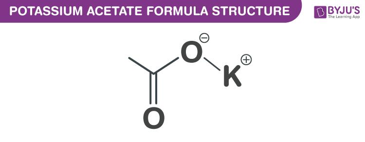 Potassium Acetate Formula