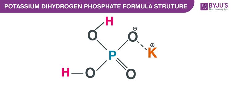 Potassium dihydrogen phosphate Formula