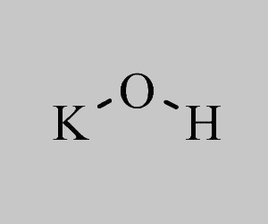 Potassium Hydroxide Structural Formula