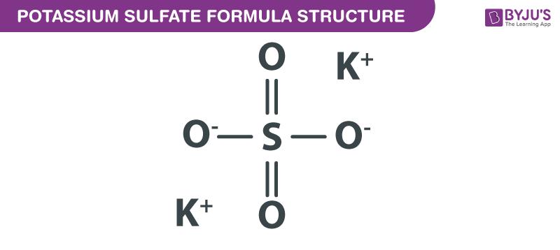 Potassium Sulfate Formula