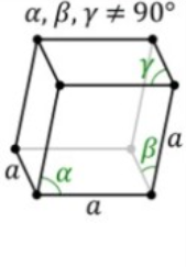 Rhombohedral Bravais Lattice