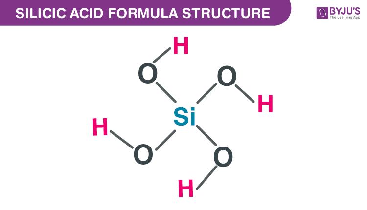 Silicic acid Formula