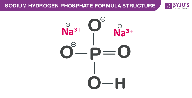 Sodium hydrogen phosphate Formula