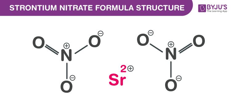 Strontium nitrate Formula