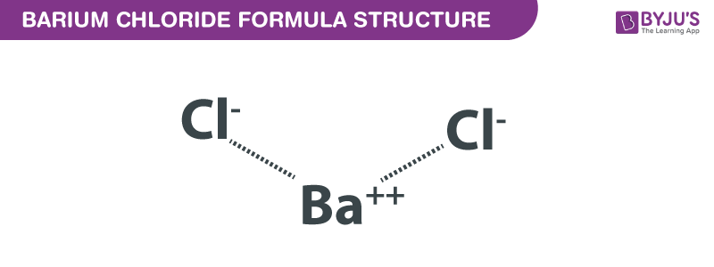 Structural Formula Of Barium Chloride