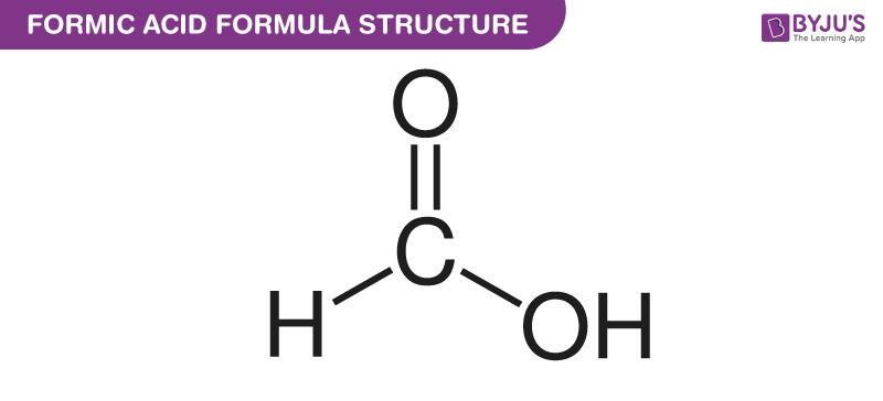 Structural Formula Of Formic Acid