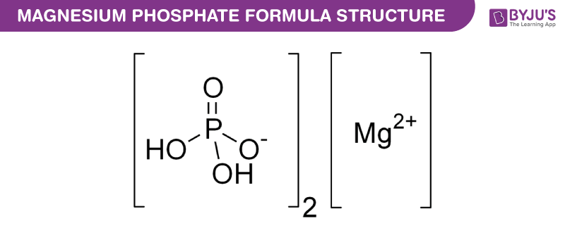 Structural Formula Of Magnesium Phosphate