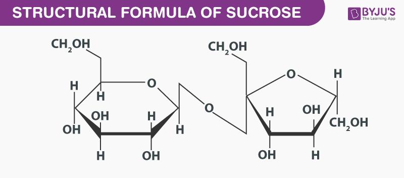 Structural Formula Of Sucrose