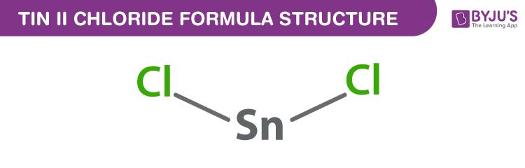 Tin (II) chloride Formula