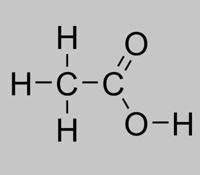 Vinegar Structural Formula