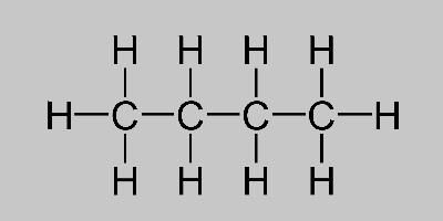 Butane Structural Formula