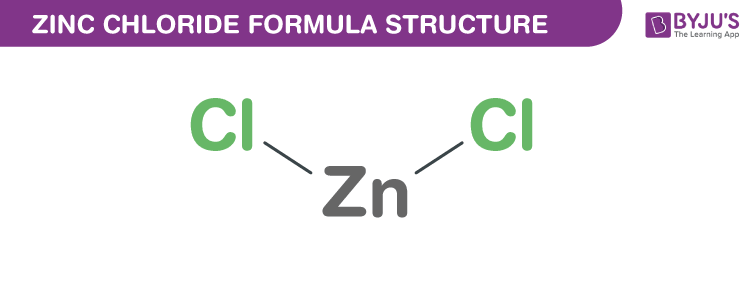 Zinc Chloride Chemical Structure