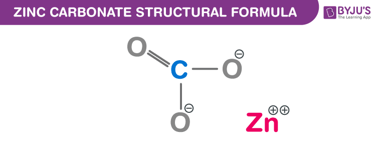 Zinc Carbonate Chemical Structure
