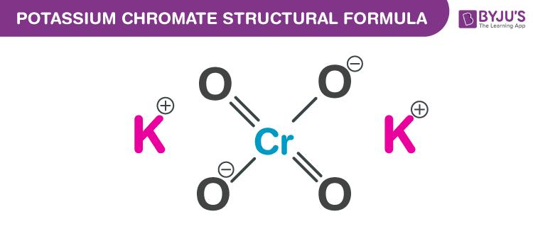 Potassium Chromate Chemical Structure