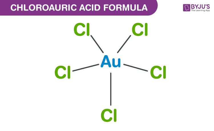 Chloroauric Acid Formula