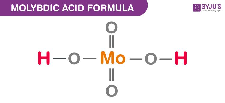 Molybdic Acid Formula