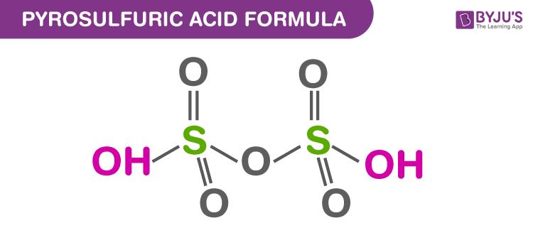 Pyrosulfuric Acid Formula