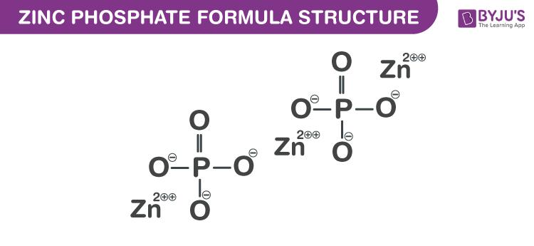 Zinc Phosphate Formula
