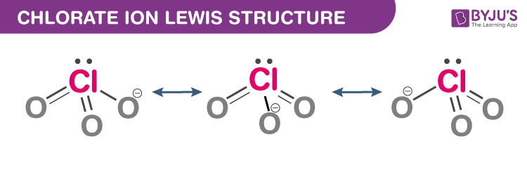Chlorate Ion Lewis Structure