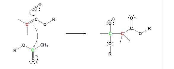 Claisen Condensation Mechanism Step 2