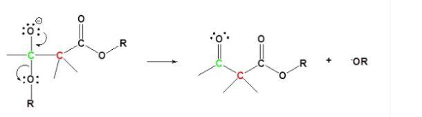 Claisen Condensation Mechanism Step 3