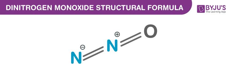 Dinitrogen Monoxide Formula