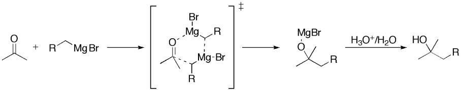 Grignard Reaction Mechanism