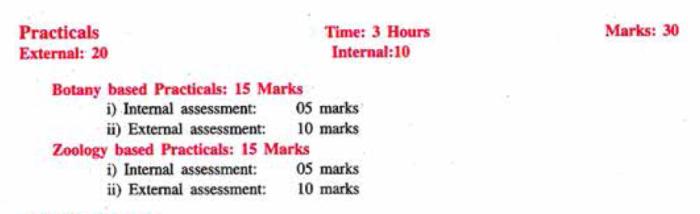 JKBOSE class 12 Biology Practicals