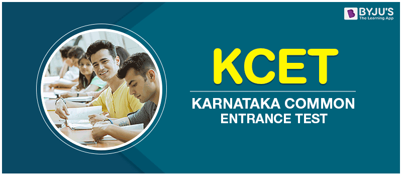 Karnataka Common Entrance Test - KCET