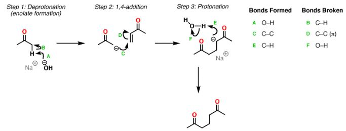 Michael Addition Mechanism