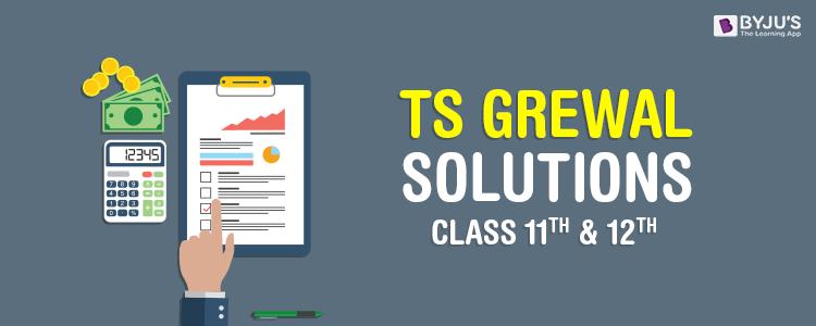TS Grewal Solutions