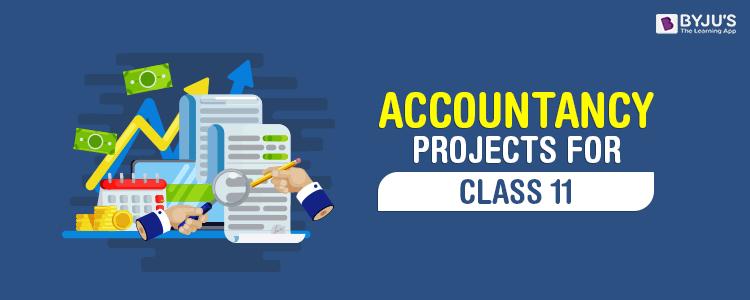 Class 11 Accountancy Project