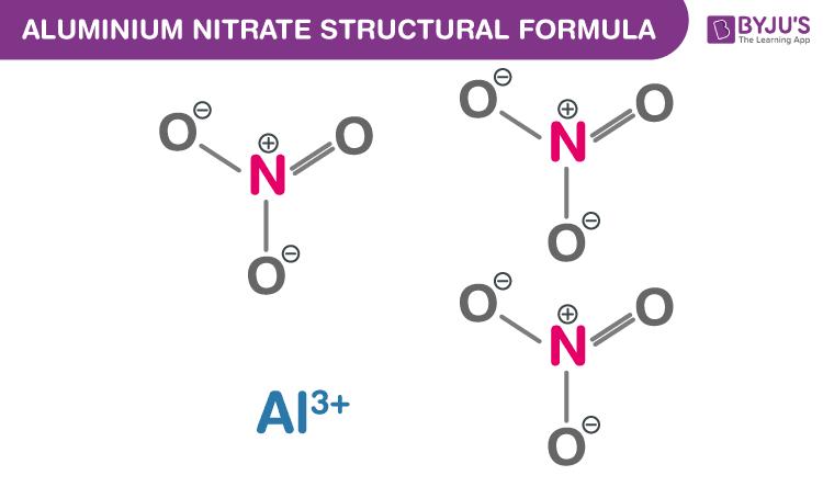 Aluminium Nitrate Formula