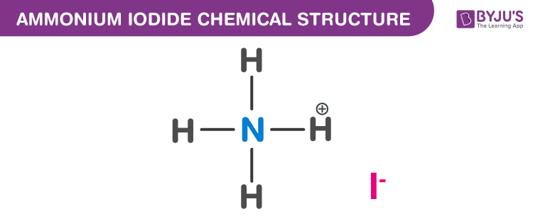 Ammonium Iodide Formula