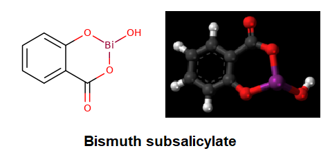 Bismuth subsalicylate Structure