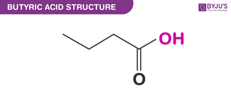 Butyric acid structure