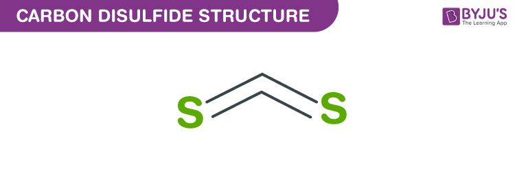 Carbon Disulfide Structure