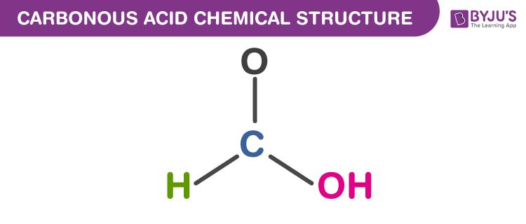 Carbonous Acid Formula