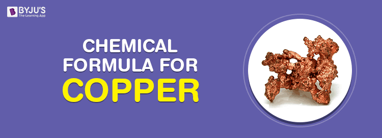 Chemical Formula For Copper