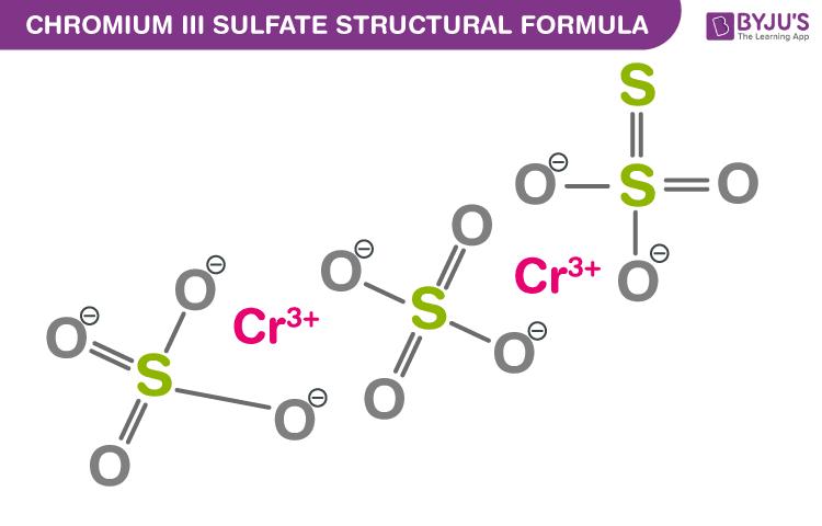 Chromium III Sulfate Formula