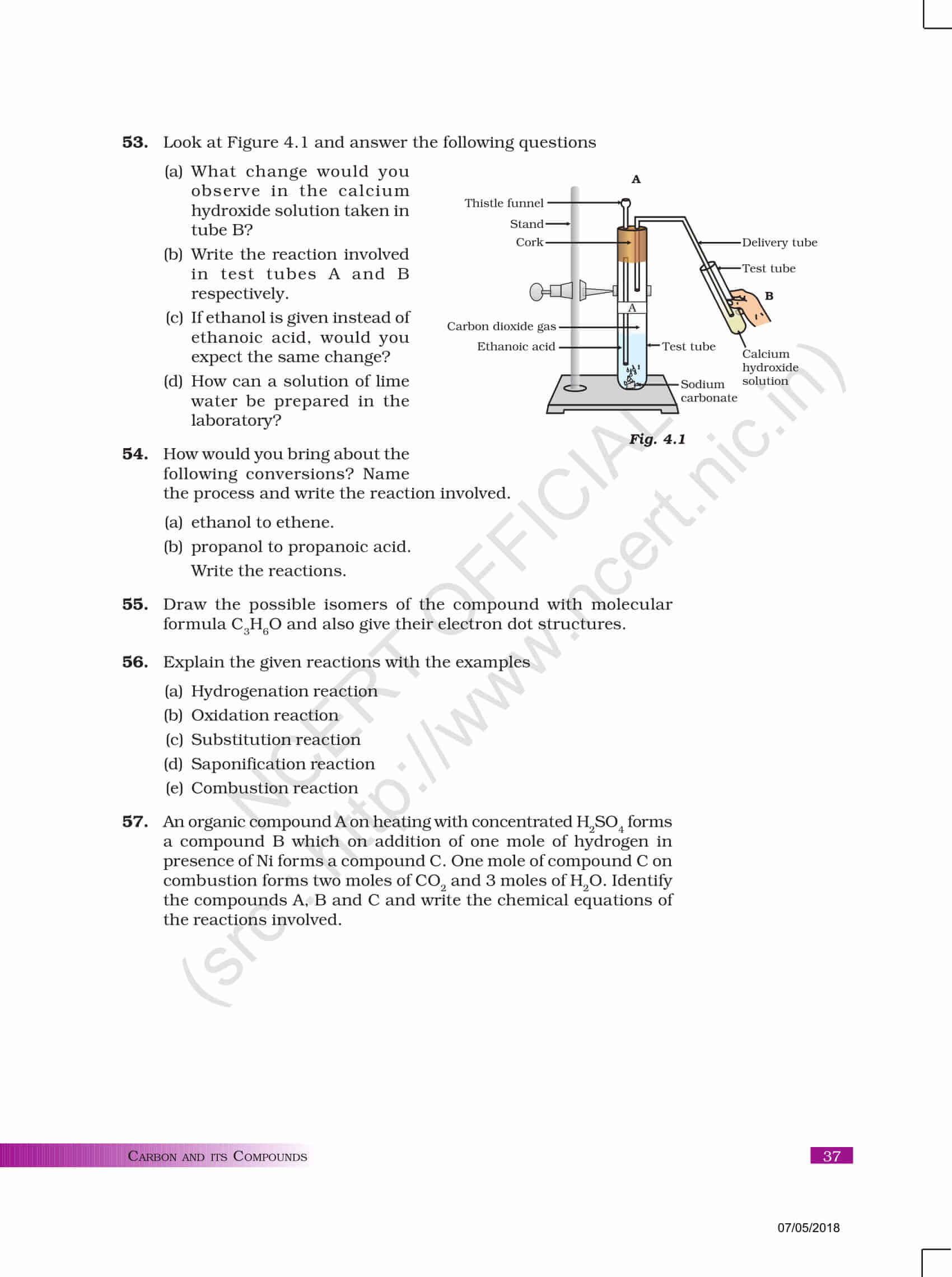 NCERT Exemplar Class 10 science
