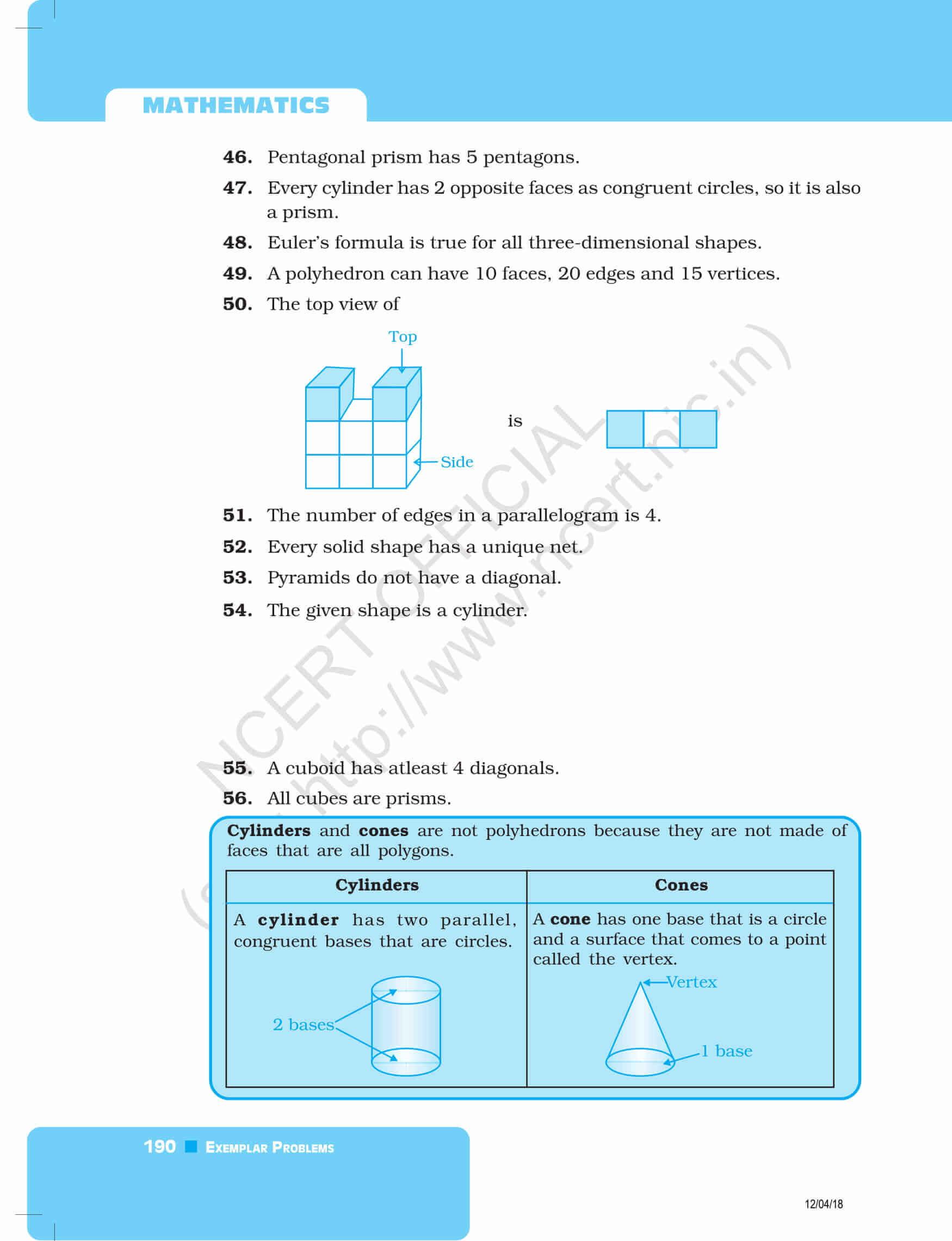 NCERT Exemplar Class 8 maths