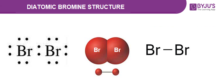 Diatomic Bromine Structure