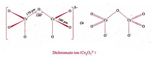 Dichromate Structure