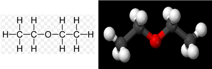 Diethyl Ether Structure