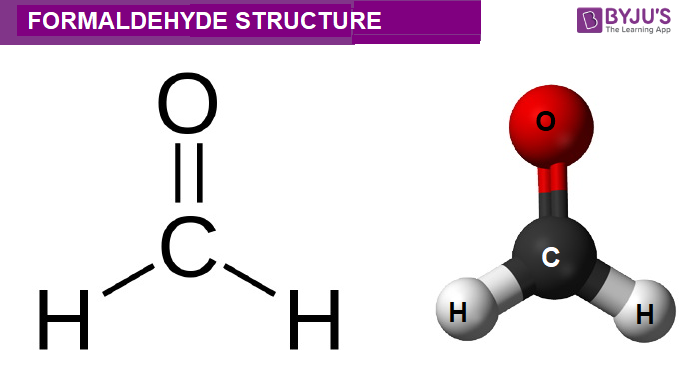 Formaldehyde Structure