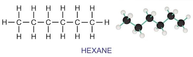 Hexane Structure